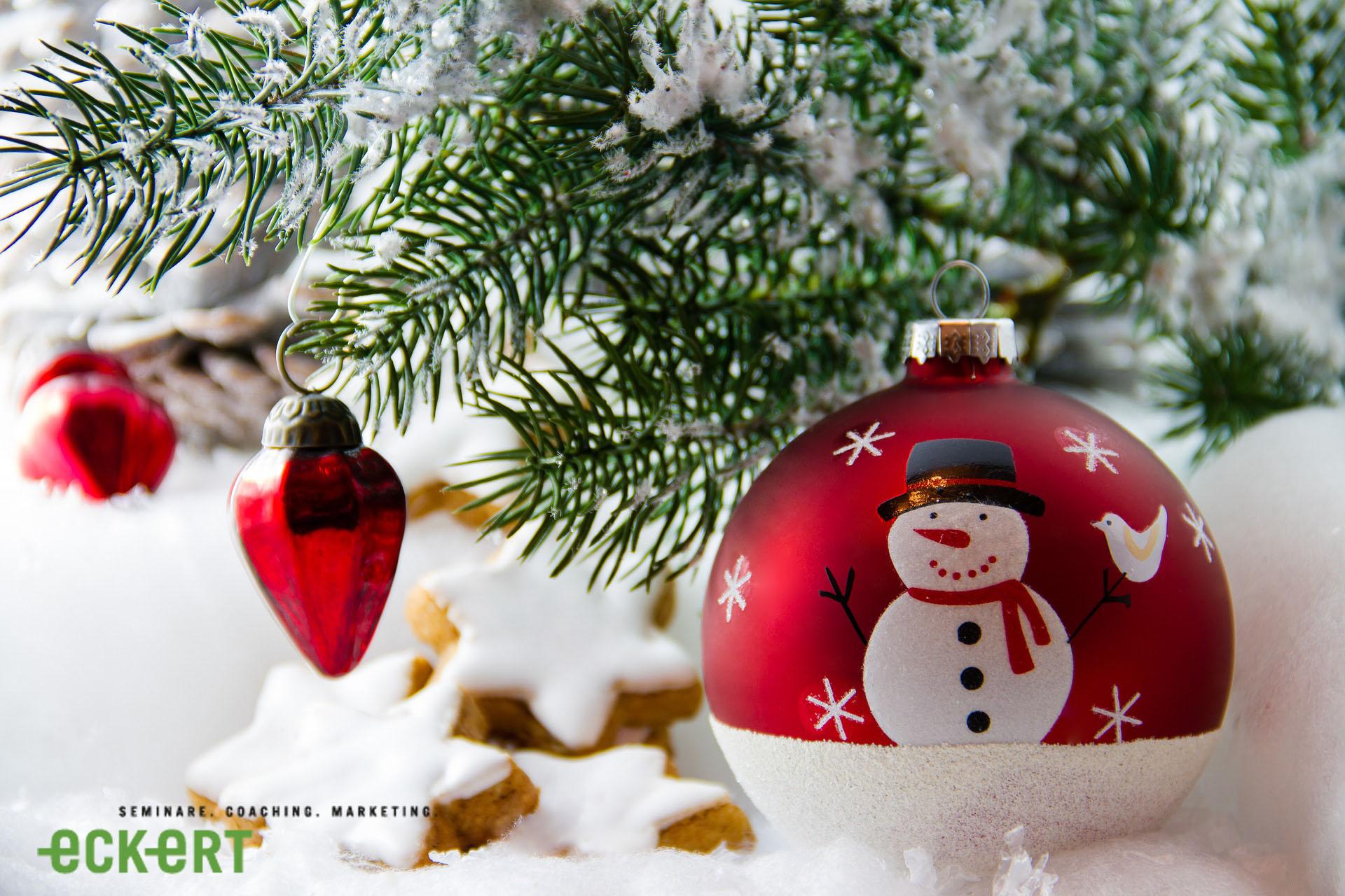 Eckert Seminare wünscht Ihnen einen besinnlichen 2. Weihnachtsfeiertag!